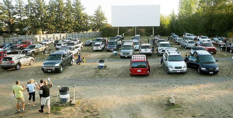Photo Credit: FILE PHOTO - Officially ­listed -- Open since 1953, the 99W Drive-In is now listed on the National Register of Historic Places.
