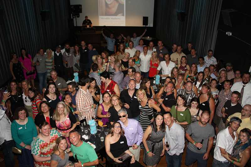 Photo Credit: SUBMITTED PHOTO: GINA MITCHELLE - The Lakeridge class of 1994 held a 20-year reunion celebration last Friday at Lake Theater & Café.