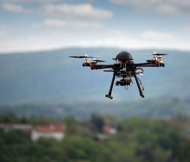 Photo Credit: COURTESY OF DREAMSTIME - A public forum on the civilian and military use of drones takes place at 7 p.m. Thursday, Aug. 7, at the First Unitarian Church of Portlands Eliot Chapel at Southwest 12th Avenue and Salmon Street.
