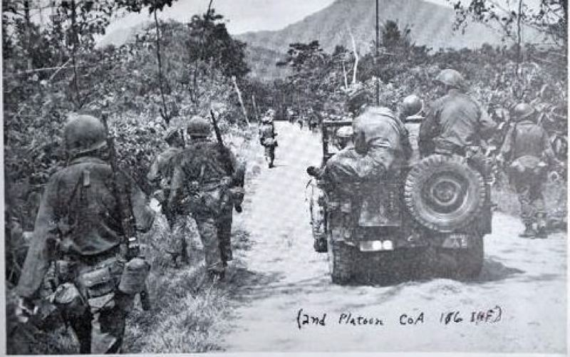 Photo Credit: HISTORIC PHOTO COURTESY: 41ST DIVISION - The U.S. Army's 41st Division Jungleers are pictured fighting in the South Pacific during World War II.