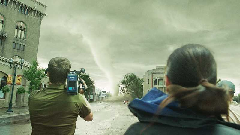 Photo Credit: SUBMITTED - New movie - Battling tornados and avoiding climate change, 'Into the Storm,' depicts a small-town's fight with nature. The movie opened Aug. 8.