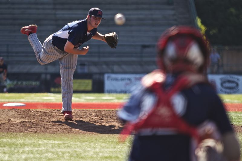 Photo Credit: TIMES FILE PHOTO - Westview pitcher Kenyon Yovan was the Metro Pitcher of the Year this season as a sophomore, beating out the likes of Jesuits Christian Martinek for the award.
