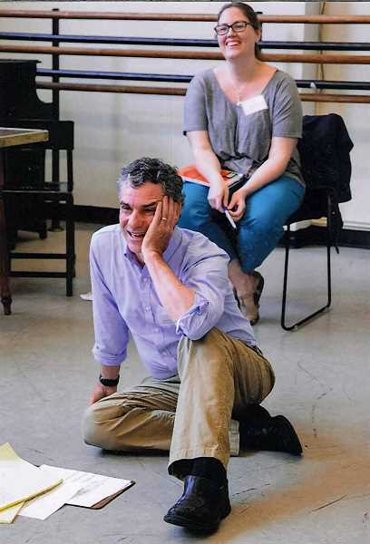 Photo Credit: SUBMITTED PHOTO: NAN MELVILLE - Bob McGranahan said there was lots of laughter and kindred spirits at The Juilliard Schools Directing Workshop for Theater Educators.