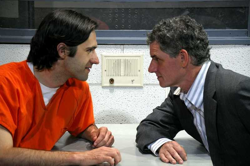 Photo Credit: SUBMITTED PHOTO: J.D. SANDIFER - McGranahan recently returned to acting, in 2012 starring as astronomer Peter in the Portland-based CoHo Theatres production of In Continuum. His co-star was Matthew Diekman, who played Craig, a con man.