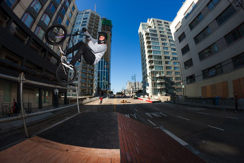 Photo Credit: COURTESY OF DEW TOUR/ALLI SPORTS - BMX rider Scotty Cranmer and the rest of the Dew Tour stars will tackle streetstyle courses in downtown Portland, Aug. 16 and 17.