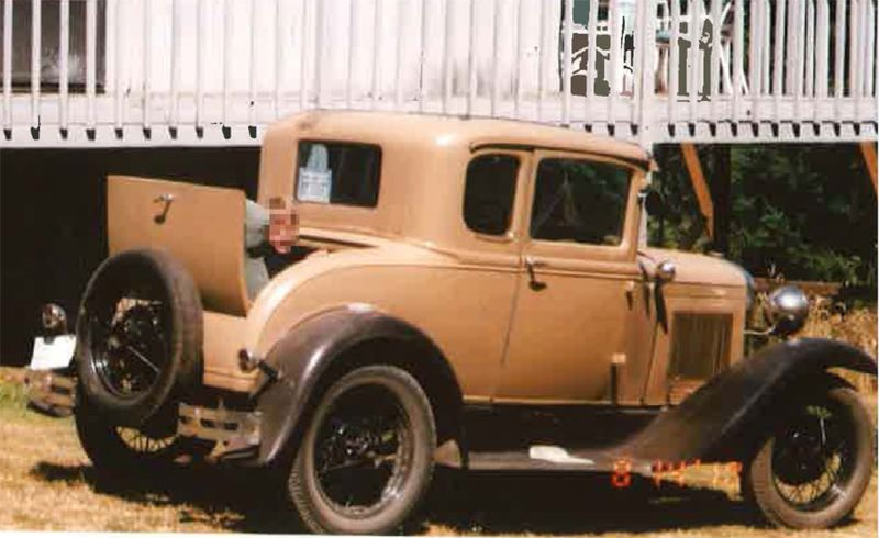 Photo Credit: COURTESY PHOTO - Detectives with the Washington County Sheriffs Office are searching for a 1931 Ford Model A stolen from a residence south of Hillsboro July 15. The Model A rumbleseat coupe was stolen from a driveway in the 19400 Block of S.W. McCormick Hill Road. WCSO detectives have exhausted all leads and are now seeking the publics help to locate this very distinctive vehicle. It is in mostly original condition with a light brown exterior and original black wheels and fenders. Call 503-846-2500 with any information.
