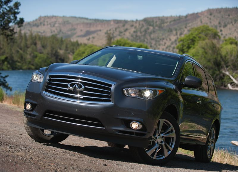 Photo Credit: JOHN M. VINCENT - 2014 Infiniti QX60 Hybrid AWDs are EPA rated at a combined 26 miles per gallon. A drive mode selector allows drivers to choose a balance of efficiency and performance.