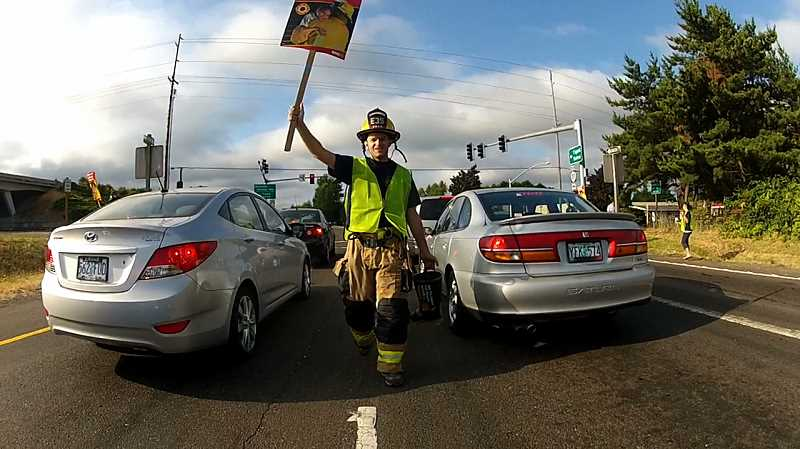 Firefighters will be on the streets this month collecting donations for MDA during the annual 'Fill the Boot' fundraiser. Firefighters will be at Bridgeport Village this Friday and Saturday.