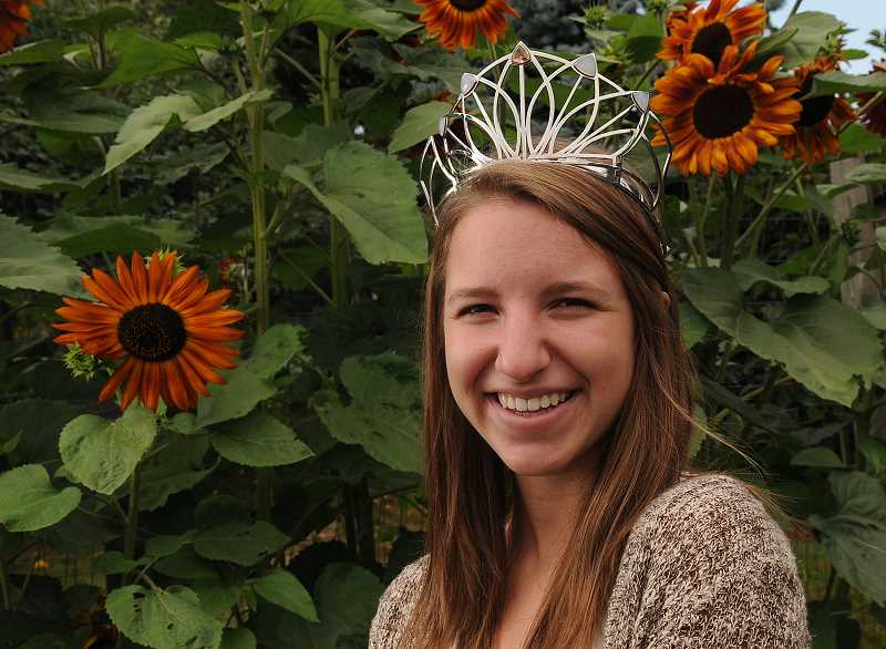 Photo Credit: PAMPLIN MEDIA GROUP: VERN UYETAKE - Waibel is already looking forward to meeting the 2015 Rose Festival princesses, and hopes to travel with them as a mentor.