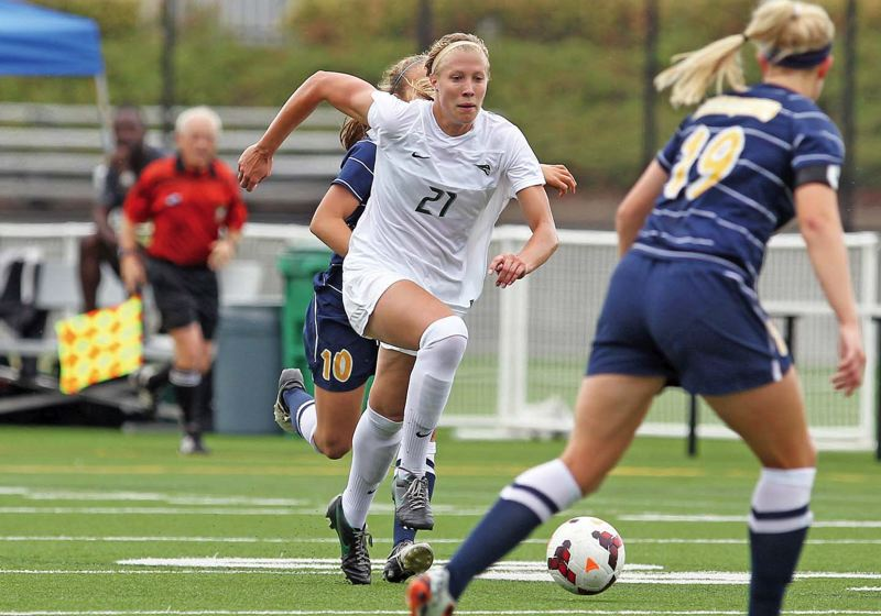 Photo Credit: COURTESY OF PORTLAND STATE UNIVERSITY - Kayla Henningsen is one of 10 returning starters for a Portland State womens soccer team that finished first in the Big Sky regular season last year.