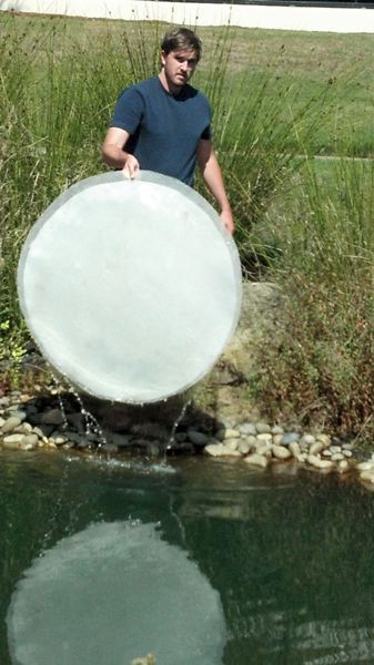 Photo Credit: BECKI OSHEIM - Puralytics makes the LilyPad which uses sunlight to purify stormwater