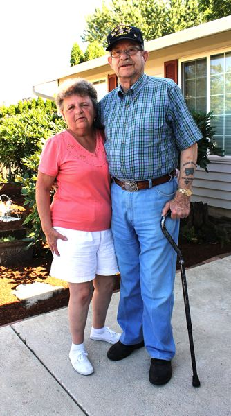 Photo Credit: OUTLOOK PHOTO: CARI HACHMANN - Sandy, 72, and Jack, 83, were shocked and thankful at the outpouring of community support. The couple has been married 47 years.