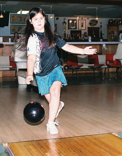 Photo Credit: JOHN DENNY - Milwaukie 10-year-old Sophia Winklepleck says she loves bowling and animals. Her passion for the sport of bowling gained her acclaim in mid-August when she won first place in the Junior Division of the Dave Husted Pro-Am.