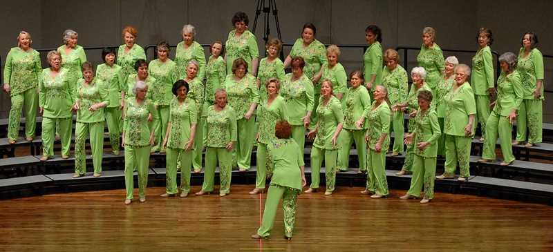 The Cascade Harmony Chorus will headline a special a cappella concert Sept. 20 at the Richard R. Brown Fine Arts Center in Canby.