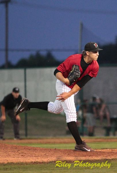 Photo Credit: COURTESY PHOTO: RILEY PHOTOGRAPHY - Former Southridge baseball star Jace Fry was selected in the third round of the Major League Baseball Draft by the Chicago White Sox in June. Fry is playing for the White Sox single-A affiliate.