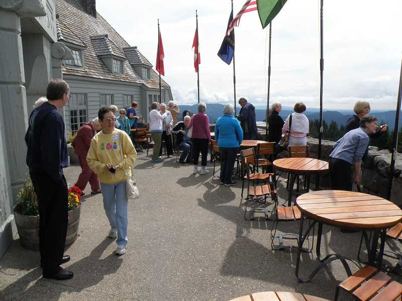 Photo Credit: SUBMITTED PHOTO - The recent bus trip to Timberline Lodge was a popular outing. For those who like to travel, a new service is being added. Learn more about Collette Travel during informational meetings in September.