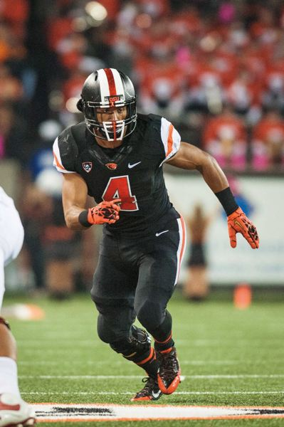 Photo Credit: COURTESY OF OREGON STATE UNIVERSITY - D.J. Alexander is one of the starters on a experienced, deep Oregon State linebacking corps.