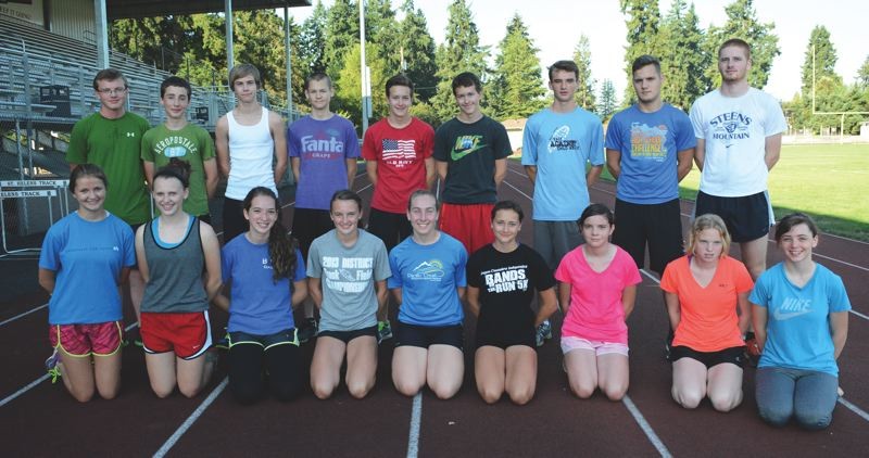 2014 St. Helens High School Cross Country