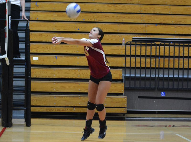 Photo Credit: TIMES FILE PHOTO - Southridge senior setter Nica Loo will be one of the Skyhawks key players this season, both setting up the offense and hitting from the outside.