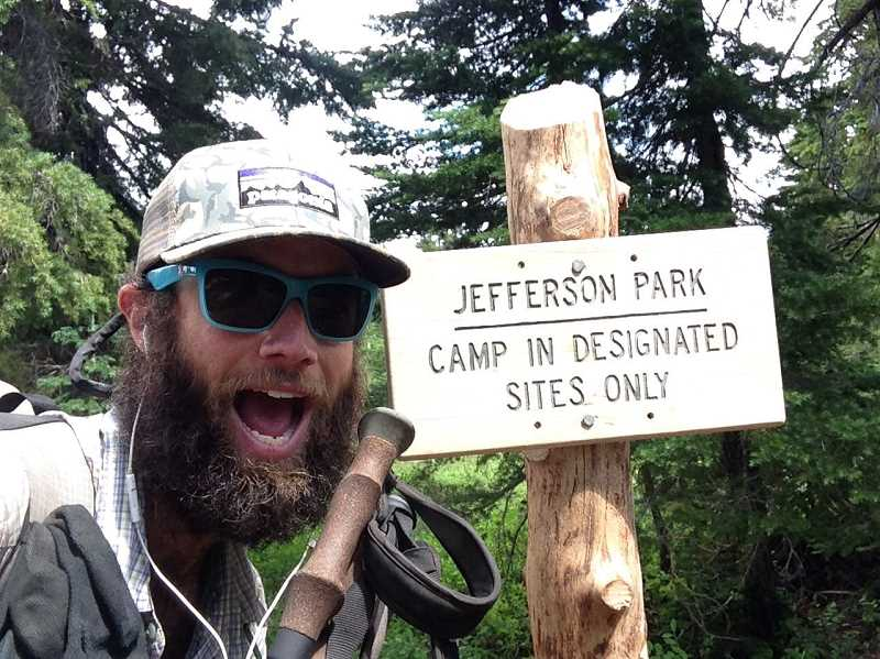 Photo Credit: SUBMITTED PHOTO - A former marine, Weinhart hopes to one day complete two more long distance hikes: the Continental Divide Trail (2,800 miles) and the Appalachian Trail (2,160 miles).