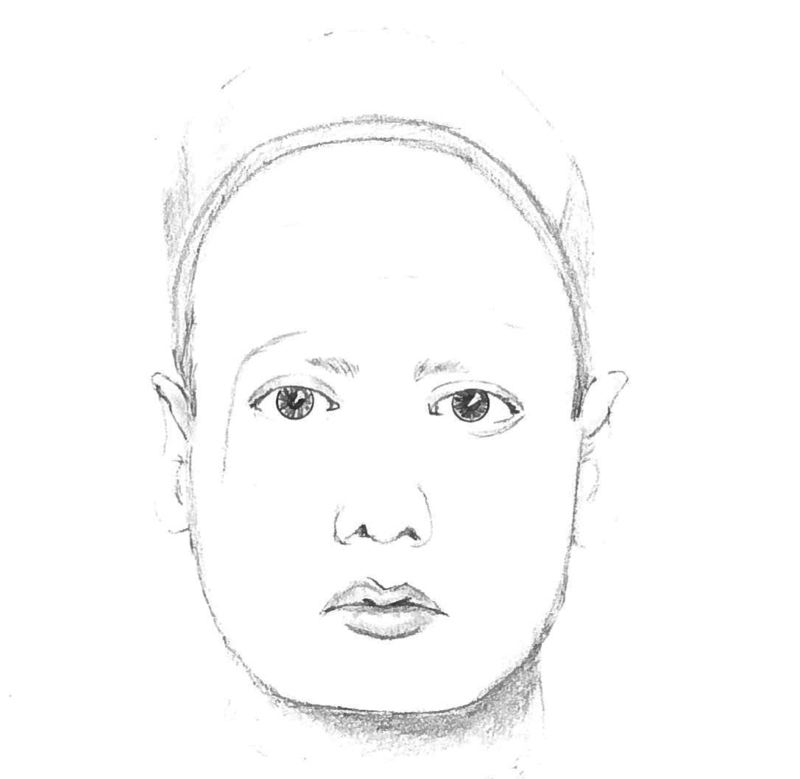 Photo Credit: OCPD - A sketch of the groping suspect.