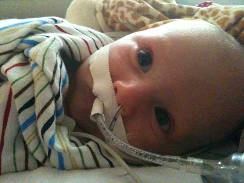 Photo Credit: SUBMITTED PHOTO - Cole Parker Randall was 76 days old when he lost his battle with spinal muscular atrophy in 2012. His family is hosting a golf tournament Sept. 27 to raise money to find a cure.
