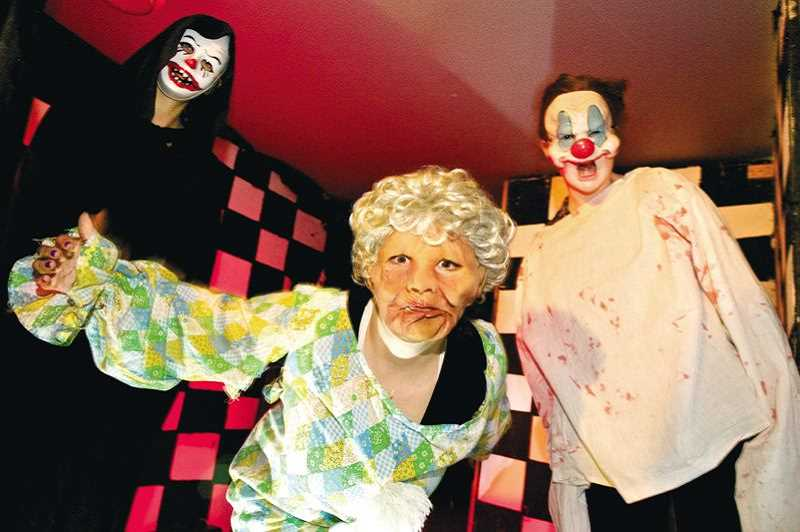 Tualatin Youth Advisory Council's annual haunted house brings plenty of scares all this week