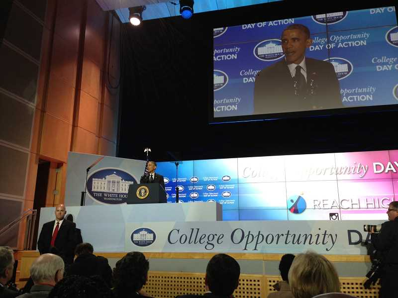 press office remarks president first lady college opportunity summit
