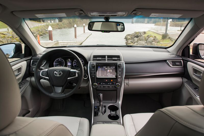Photo Credit: TRIBUNE PHOTO BY JOHN M. VINCENT   All 2015 Camryu0027s Now Come  Equipped With Toyotau0027s Entune App Centric Infotainment System. The Interior  Touts ...