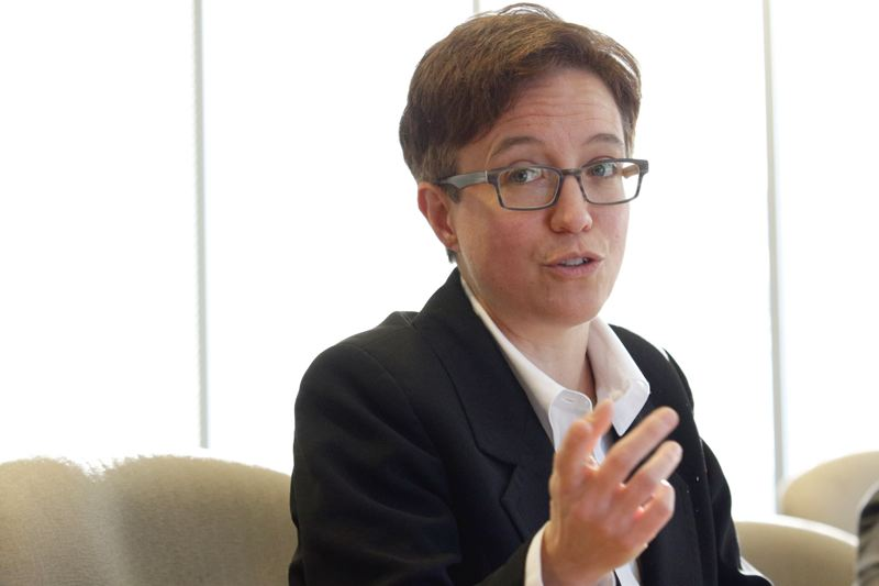 Photo Credit: TRIBUNE PHOTO: JONATHAN HOUSE - House Speaker Tina Kotek, a North Portland Democrat, says shell have more clout in the 2015 session, now that she has more experience running the chamber.