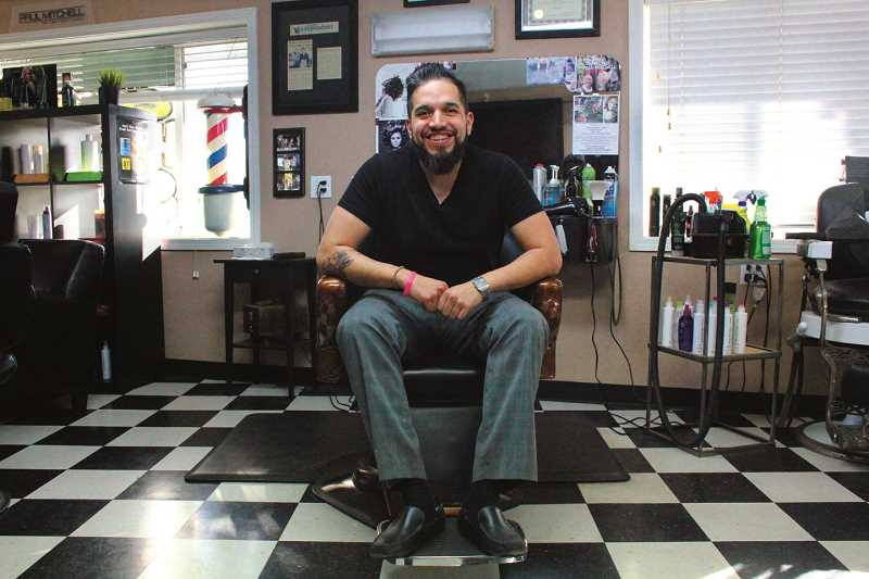 Barber Industry : INDEPENDENT PHOTO: TYLER FRANCKE - Leonardos Barber + Style is run by ...