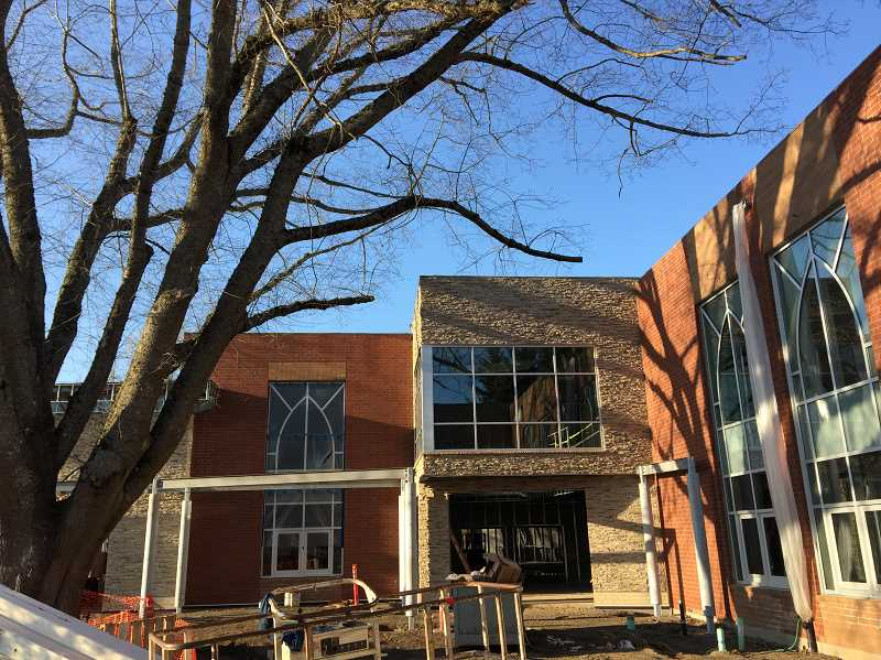 SUBMITTED PHOTO - The Muslim Educational Trust has been working to build a new community center and school on Scholls Ferry Road for years. The building is finally nearing completion, though the organization needs about $1 million to finish the work