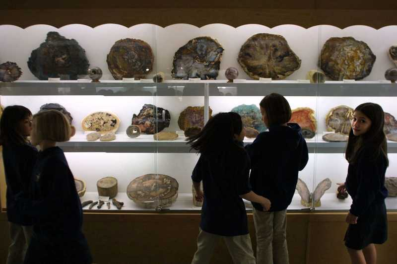 PAMPLIN MEDIA GROUP: DAVID PLECHL - Rice Northwest Museum of Rocks & Minerals is very popular with youngsters from area schools. Early this week, Rice Museum became an affiliate of the prestigious Smithsonian Institution in Washington, D.C.
