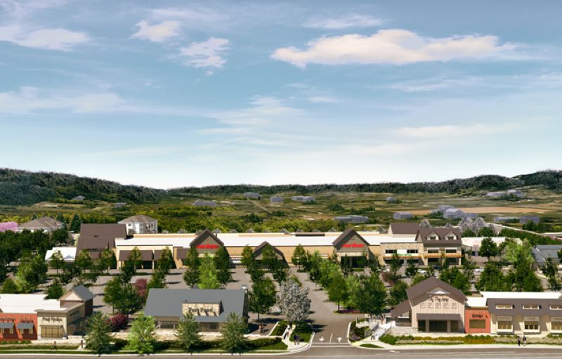 RENDERING COURTESY: GRAMOR DEVELOPMENT   This Artistu0027s Conception Of Happy  Valley Crossroads Shows Where Shoppers