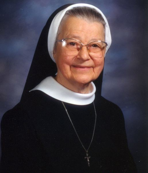 SUBMITTED PHOTO - Sr. Geraldine Bernards