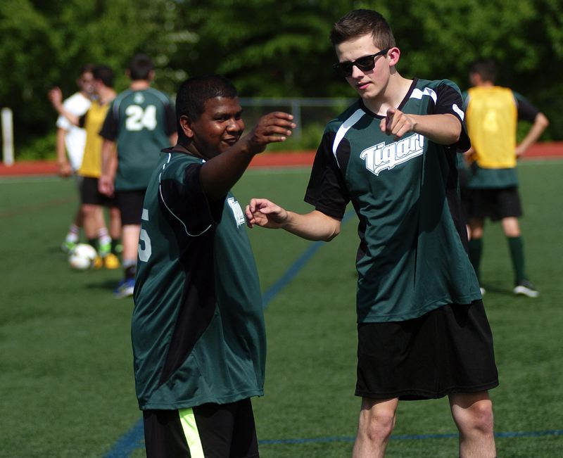 DAN BROOD - Camaraderie and teamwork were two big aspects of the unified soccer program at Tigard High School.