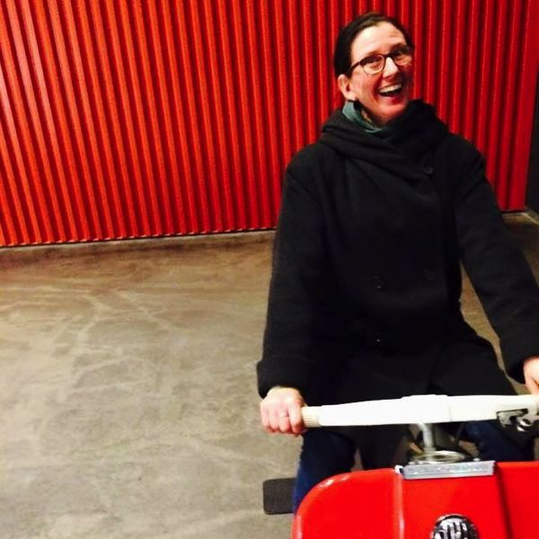 COURTESY FACEBOOK - Sara Krajewski, soon to ride into town asPAM's Modern and Contemporary Art curator.