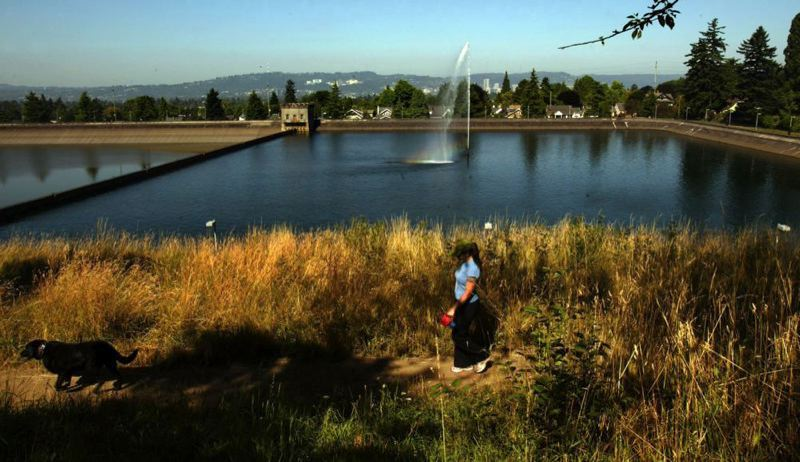 PORTLAND TRIBUNE FILE PHOTO - The City Council will consider the future of the Mt. Tabor open reservoirs next week.