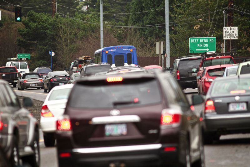 TRIBUNE FILE PHOTO - ODOT expects about 500 people to sign up for its OReGO program in the next few weeks. OReGO is testing technology for drivers who agree to pay a per-mile fee as an alternative to the state gas tax.