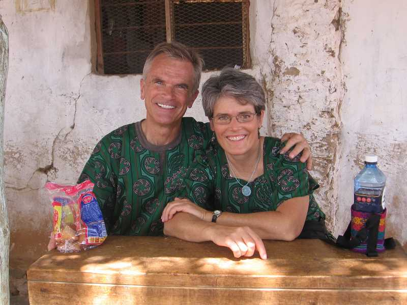 Their smiles say it all for Brent and Rinda Hayes. She calls Kenya Keys the most rewarding thing I have ever seen.