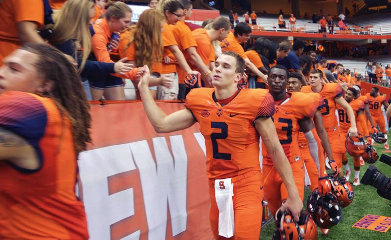 Pamplin Media Group - Dungey takes lead role quickly at Syracuse 0f2b0f09f