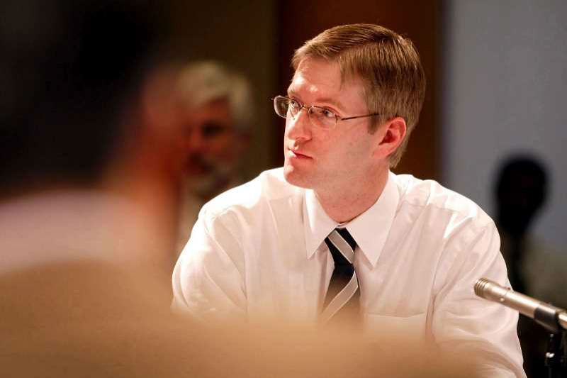 PORTLAND TRIBUNE FILE PHOTO - Ted Wheeler announced endorsements by three former Portland mayors on Wednesday.
