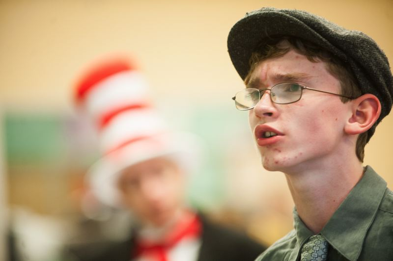 JOSH KULLA - Ethan Golden plays Horton in Seussical, which sets the beloved stories of Dr. Seuss to song.