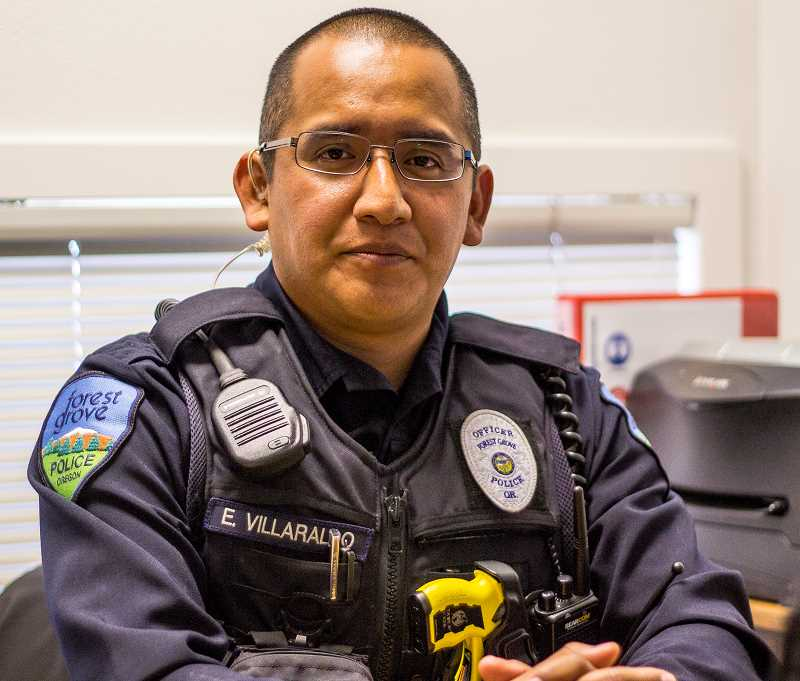 Villaraldo spent nine years in the U.S. Army reserves before taking the SRO position at the high school.