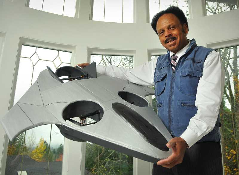 REVIEW PHOTO: VERN UYETAKE - Ben Berry and the Lake Oswego-based company he founded, Airship Technologies Group, are set to begin production on a solar-powered, unmanned aerial vehicle - a drone called the V2.