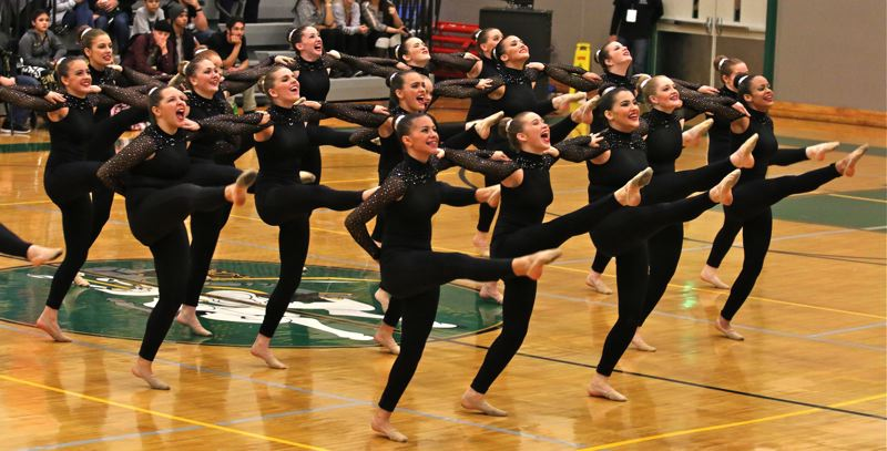 PHOTO BY: J. BRIAN MONIHAN - Gladstone High School in the Kick Category