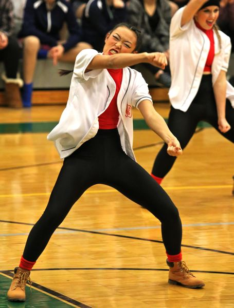 PHOTO BY: J. BRIAN MONIHAN - Westview High School in the Hip-Hop Category.