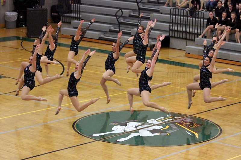 SUBMITTED PHOTO - Lakeridge High took second in Large Jazz during the Category Championships on Saturday at Rex Putnam High School in Milwaukie, Ore.
