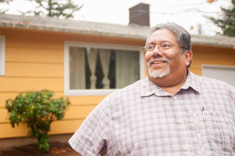 OUTLOOK PHOTO: JOSH KULLA - Miguel Tellez is a former addict who now runs a residential group home in Rockwood for Latino men recovering from addiction.