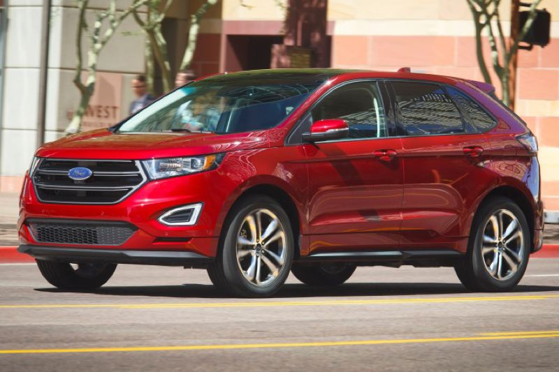 Ford Motor Company The 2016 Edge Sport Looks Heavy Duty Compared To Some Other